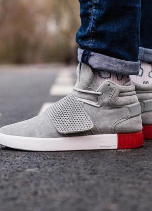 Стильные кроссовки 🔥 adidas tubular grey🔥