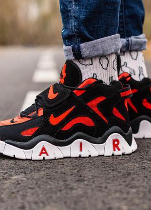 Стильные кроссовки 🔥nike air barrage mid black-red🔥