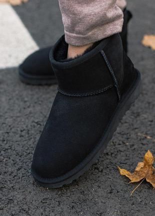 Крутые зимние уги ❄️ ugg classic mini ii boot ❄️ мужские