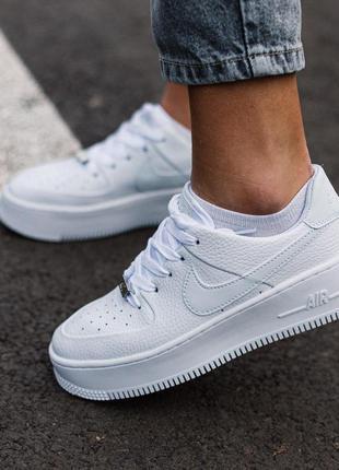Стильные кроссовки 🔥 nike air force 1 white 🔥