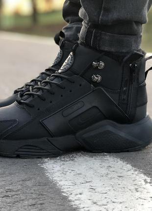 Стильные кроссовки ❄️  nike huarache winter black ❄️ термо