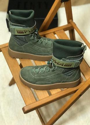 Puma x fenty scuba boot стильные кроссовки