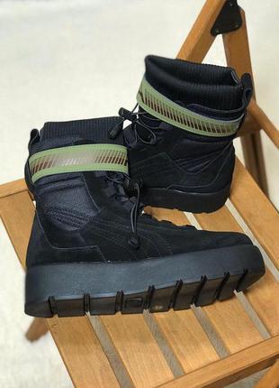 Puma x fenty scuba boot black стильные кроссовки