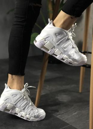Nike air more uptempo крутые кроссовки