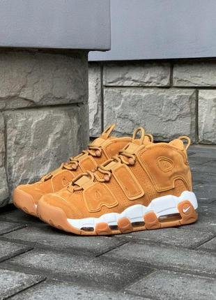 Nike air more uptempo 96 brown стильные кроссовки новинка
