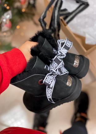 Женские уги ugg bailey mini зима на меху