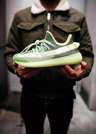 Adidas yeezy boost 350 reflective стильные кроссовки