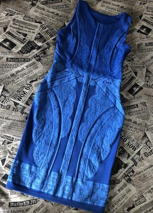 Готовимся к новому году - шикарное синее платье