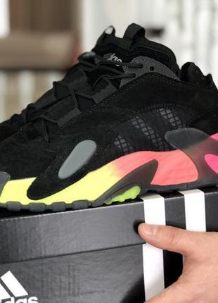 Adidas streetball стильные кроссовки