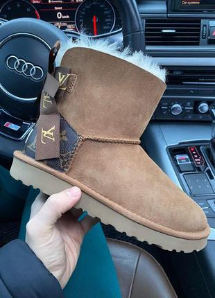 Ugg bailey mini зимние уги на натуральной овчине