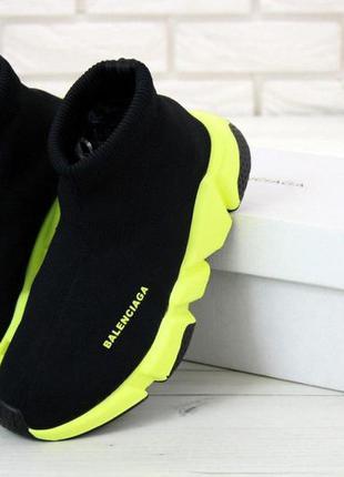 Balenciaga socks noir  стильные кроссовки
