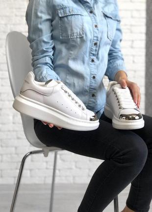 Alexander mcqueen стильные кроссовки