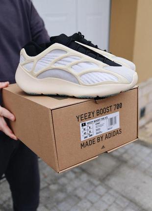 Adidas yeezy 700 v3 azael  стильные кроссовки