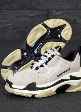 Balenciaga triple s стильные кроссовки