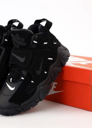 Nike air barrage стильные кроссовки
