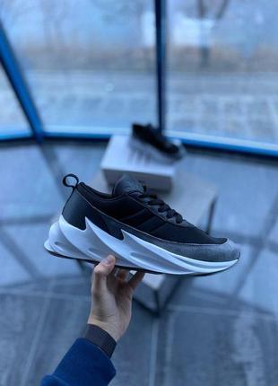 Cтильные кроссовки adidas sharks gray