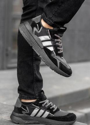 Cтильные кроссовки nite jogger black