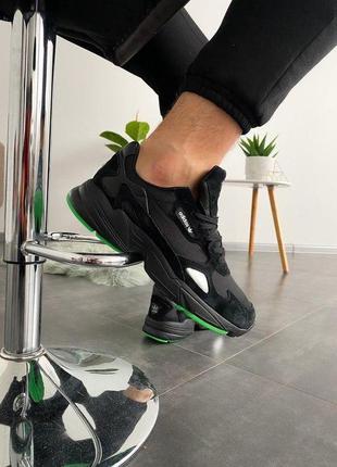 Cтильные кроссовки falcon black green