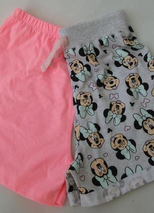 Набор 2 шт пижама пижамные шорты 11-12 лет primark 152 см