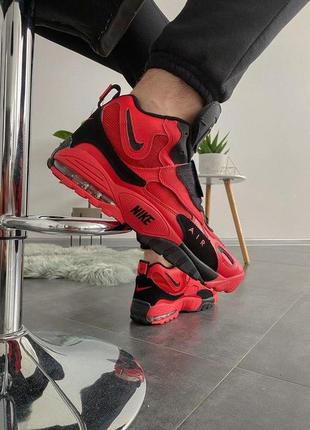 Cтильные кроссовки air max speed turf red black red