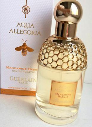 Guerlain aqua allegoria mandarine basilic, 75 мл 🔴оригинал