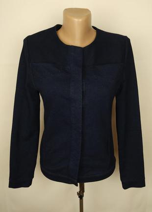 Пиджак жакет стильный джинсовый оригинальный cos uk 10/38/s