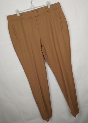 Штаны брюки стильные шерстяные стрейчевые зауженные autograph ...