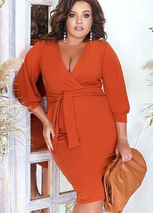 Шикарное весеннее платье большие размеры
