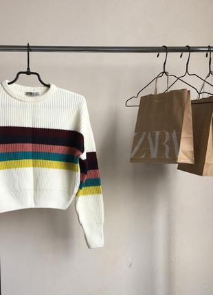 Стильный свитер свитерок в стиле zara