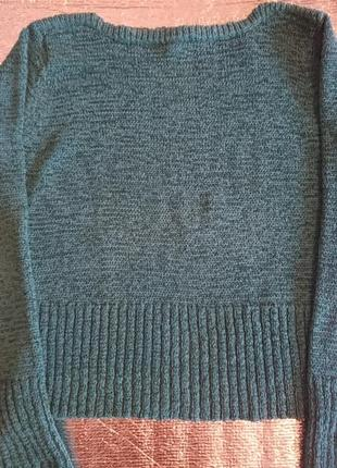 Бирюзовый свитер