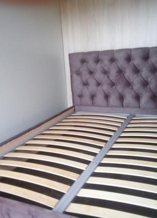 Кровать в каретной стяжке под изготовления 160/200