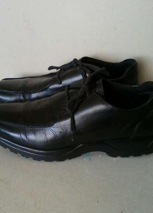 Ботинки туфли мешти мокасины кожа кожаные next черные р. 10 / ...