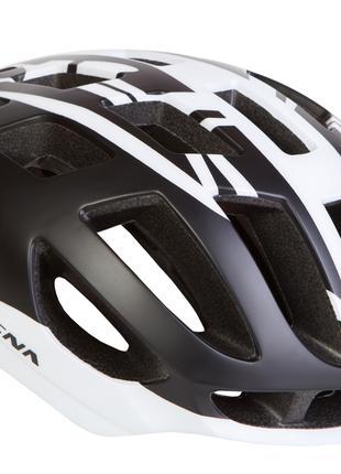 Шлем велосипедный СIGNA TT-4 чёрно-белый