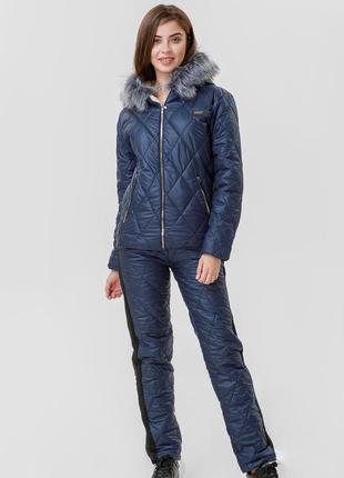 Зимний костюм, комплект куртка+штаны