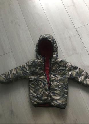 Двостороння куртка (осінь/весна)