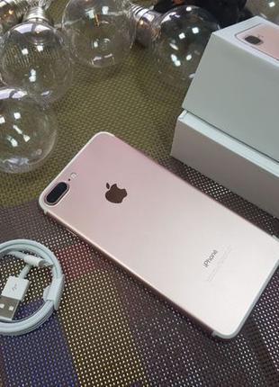 Apple iPhone 7 Plus 32Gb. Rose Gold ( neverlock ) от магазина.!