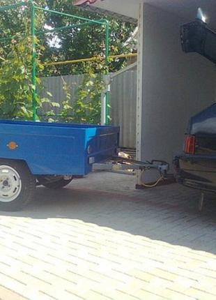 Прицеп автомобильный зубренок причеп машина москвич Иж 412