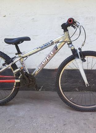 """Велосипед подростковый Cube 240 ALU 24"""" из Германии. Беспл. до..."""