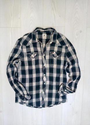 Теплая рубашка от lee® l/xl