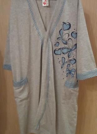 Комплект халат и ночная рубашка