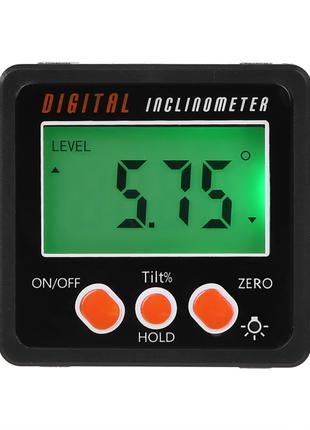 Цифровой угломер инклинометр уровень с батарейками (новые)