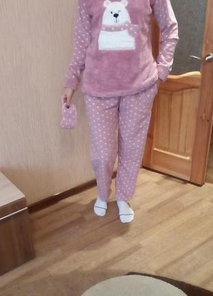 Супер мягкий костюм для дома пижама  s.m.xl