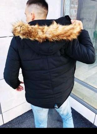 Куртка-парка мужская