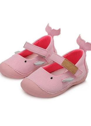 Текстильные туфли на девочку 19-24 р d.d.step