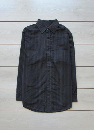 Рубашка в полоску 100% коттон от f&f
