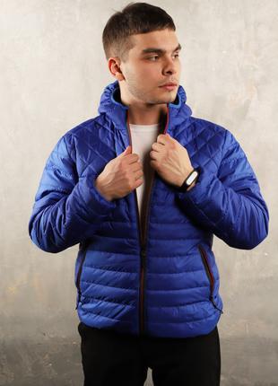 Куртка весна/осень синий