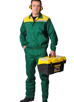 Куртка с брюками, комплект рабочий демисезонный