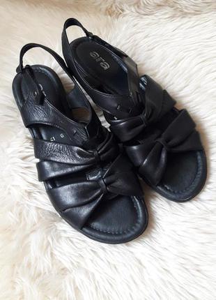 Комфортные кожаные босоножки ara 41 размер