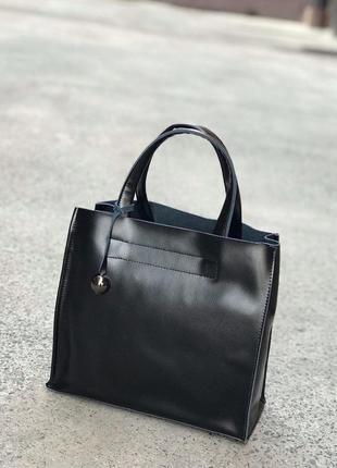 Женская кожаная сумка в натуральной коже