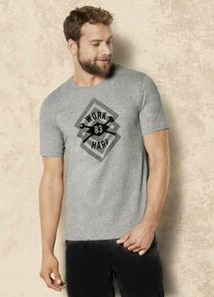 Мужская пижама дома шорты футболка р.евро 56 58 xl livergy гер...